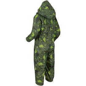 Regatta Pobble Mono Niños, cypress green dinosaur